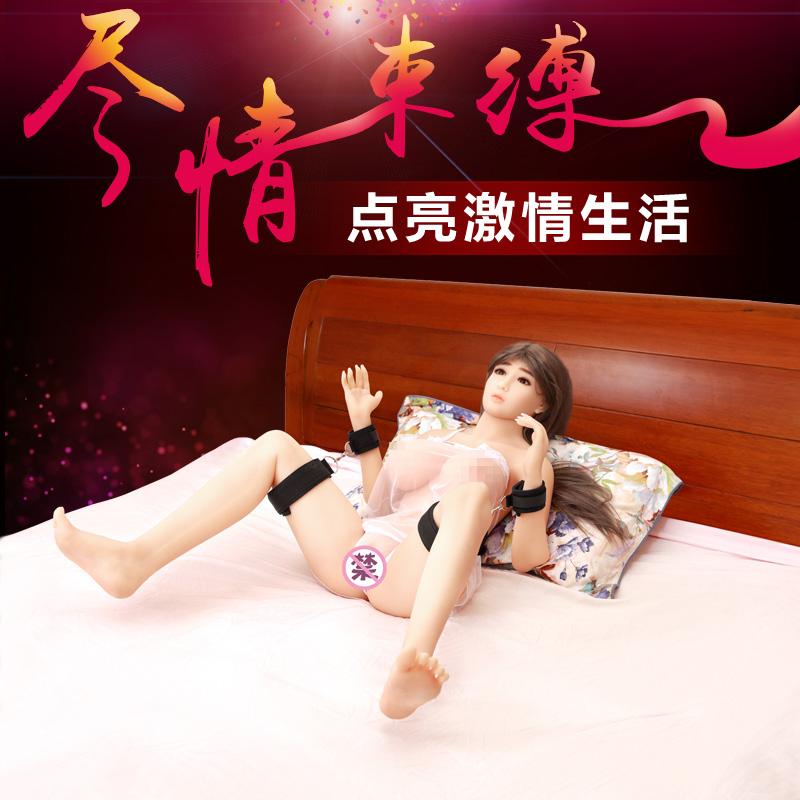 大腿铐SM 美加奴-黑色
